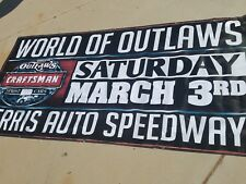 World of Outlaws 4x8 Racing Banner