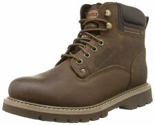 Dockers by Gerli Men's Shoes Boots 23D004-400320 Cafe Leather Lace Up