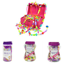 MagiDeal Pop Beads Jewelry Making Kit Intelligence Educational Toy for Girls