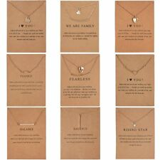 Women Charm Pendant Necklace Gold Clavicle Chains Choker Fashion Jewelry Gift