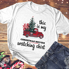 This is My Christmas Movies Watching Shirt Funny Xmas T-shirt