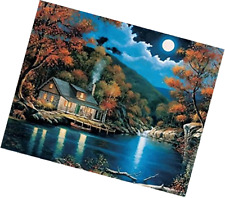 [Framless]Diy Oil Painting Paint By Number Kits Home Decor Wall Pic Value Gift-L