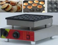 Commercial Electric Non-stick 25pcs Waffle Pancakes Muffin Maker Machine T