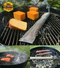 Pellet Smoker Tube Grill BBQ HOT COLD Smoking Stainless Steel Reusable 18 Inch