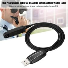 1M USB K-head Radio Programming Cable for Baofeng Walkie Talkie+CD BF-A58 DM-5R
