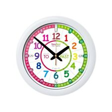 Ertt Easy Read Time Teacher Wall Clock - Choose from 2 Colors