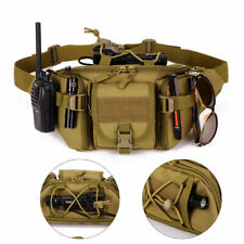 Tactical Waist Bag Military Pack Pouch Belt Bags Outdoor Camping Hiking Bags