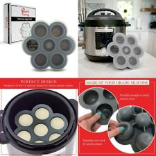 """Egg Bites Mold Accessory For""""Instant Pot"""" Electric Pressure Cooker Grey"""