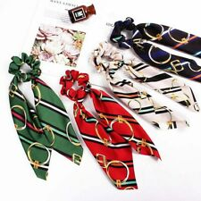 Ponytail Scarf Bow Elastic Hair Rope Tie Scrunchies Ribbon Hair Bands HOT