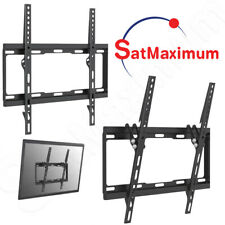 "TV Wall Mount 32""-55"" Ultra Flat Fixed / Tilt LCD LED Bracket Max Weight 88Lb"