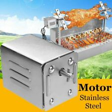 70kgs Pig Lamb Goat Chicken Charcoal BBQ Grill Spit Rotisseries Stainless Steel
