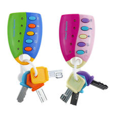 Cartoon Baby Kids Musical Smart Remote Car Key Toy Car Voices Education Toys 3N6