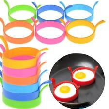 Kitchen Silicone Egg Mold Fry Oven Pancake Round Ring Mould Non-stick Cooking MP