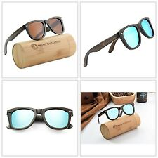 Bamboo Sunglasses with Polarized lenses-Handmade Wood Shades for Men and Women