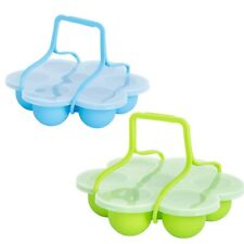 Silicone Egg Bites Mold with Clip-On Lid & Handles Other Pressure Cookers Ac 4K1