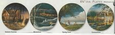FOUR SEASONS PLATE SET by Terry Redlin