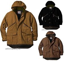 Mens Jacket DICKIES Sanded Duck Coat TC946 Heavy Duty Jackets Brown BLACK L-Tall