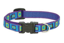 "LUPINE DOG COLLAR 1/2"" Sea Glass Nylon Adjustable"
