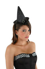 Mini Cocktail Witch Costume Hat Witch Hat Red Or Black Elope Sexy Hat 2601