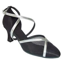 Ladies Latin Dance Shoes Line Salsa Ballroom UK 3 - 8