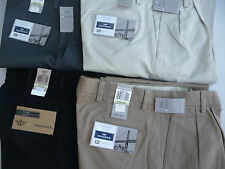 DOCKERS MENS Pants 100% Cotton SOFT D4 True Chinos Khaki NO CUFF  - NWT $60