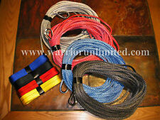 "Synthetic 3/16""x100'(5mmx30M) AmSteel Blue ATV winch rope, winch line"