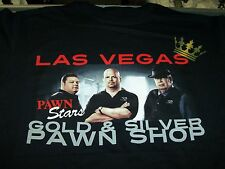 PAWN STARS RICK COREY & THE OLD MAN GOLD & SILVER PAWN SHOP T-SHIRT NEW !