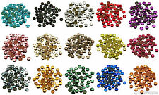 Loose Rhinestuds lot of Hot Fix Iron on 6mm, 16 Colors to choose from