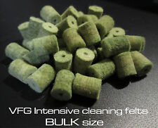 VFG Superintensive felts for cleaning rod system -  13 sizes available Bulk Size