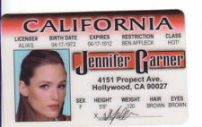 Pick Jennifer Garner ELECTRA Star Wars YODA McLovin Gene Simmons KISS or any id