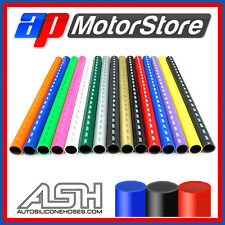 """9.5Mm 3/8"""" Silicone 1 Metre Hose - Silicon Rubber Coolant Radiator Pipe Water 1m"""