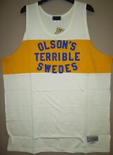 Olson's Terrible Swedes 1925 Throwback Basketball Jersey - Stall & Dean - NWT