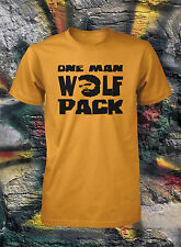 One Man Wolfpack Shirt The Hangover Wolf Pack T-Shirt Mens Wolf-Pack  S M L XL