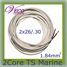 100MX2 CORE WIRE CABLE 4mm Marine Ute Boat Trailer Caravan Jet test listing