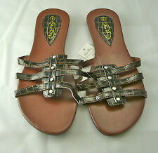 Womens Sandal/Flip Flop Bronze by Star Bay Free Shipping Limited Supply 2623