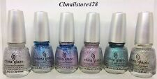 China Glaze - PRISMATIC CHROMA GLITTER - PICK ANY COLOR