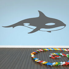 Killer Whale Whales Dolphin Bathroom Wall Stickers Wall Art Decal Transfers