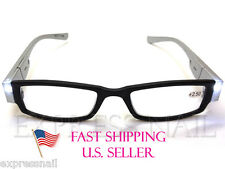 Multiple Purposes Reading Glasses With LED Light - Fashionable Colors