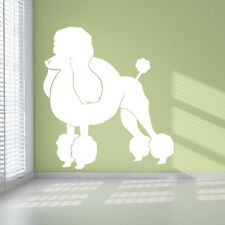 Poodle Dogs Animals Wall Art Stickers Wall Decal  Transfers