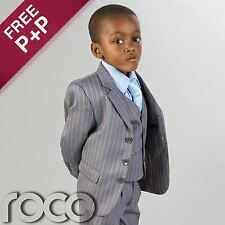 Cheap Suit For Boys Grey Ages 1-12 years