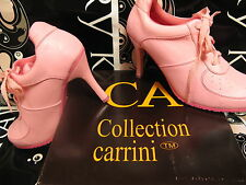 """MARY KAY PINK"" LACE UP HIGH HEELS by CA Collection PERFECT FOR CONSULTANTS NIB"
