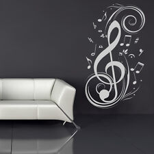 Musical Notes Music Wall Stickers Wall Art Decal Transfers