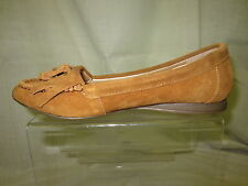 Ladies Down to earth casual loafer,suede leather,tassel detail F8768