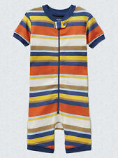 NEW GAP STRIPED ROMPER SLEEPER SIZE 6-12M 4T