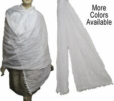 100% COTTON SCARF/DUPATTA/WRAP/SARONG/PAREO/ODNI LONG SIZE BRAND NEW
