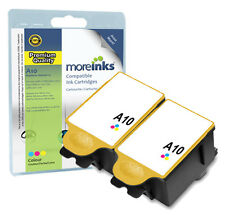 2 Compatible Advent ACLR10 Colour Ink Cartridges for A10 AW10 AWP10 Printers