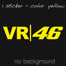 VALENTINO ROSSI VS | 46 Sticker Decal Vynil Vale Moto Racing GP Dottore