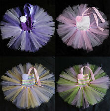 Baby Toddler Infants Girl Sweet Wedding Party Tutu Dress Newborn up to 5T
