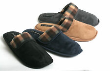New Mens Soft Warm & Cozy Easy Slip on Indoor Winter House Slippers Scuffs Shoes