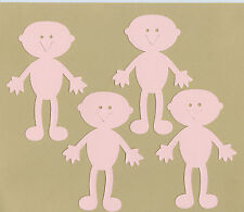 Your choice of colors on Stick Kids - Large Bodies Die Cuts